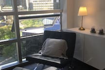 Modern Studio+ free parking+nice view@DT Vancouver
