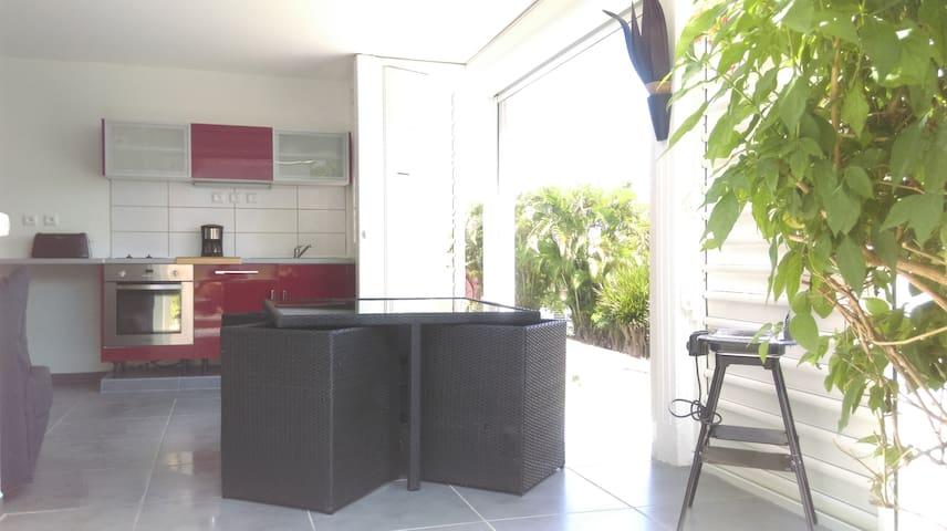Rez de Villa Magnolias - Anse des Rochers ! - GP - Kondominium