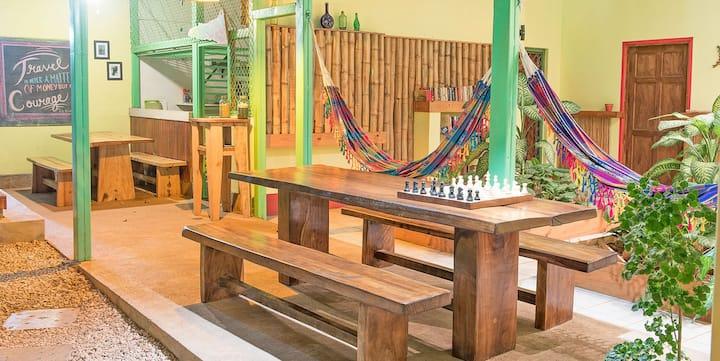 Indra Inn cozy clean room Playa Grande w breakfast