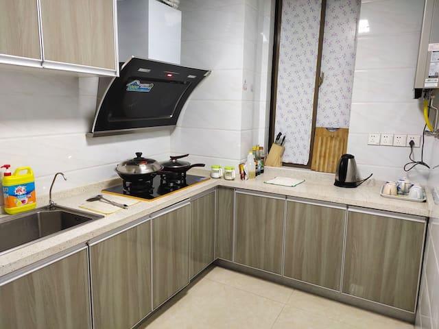 铜陵万达【温馨阁】天然气厨房