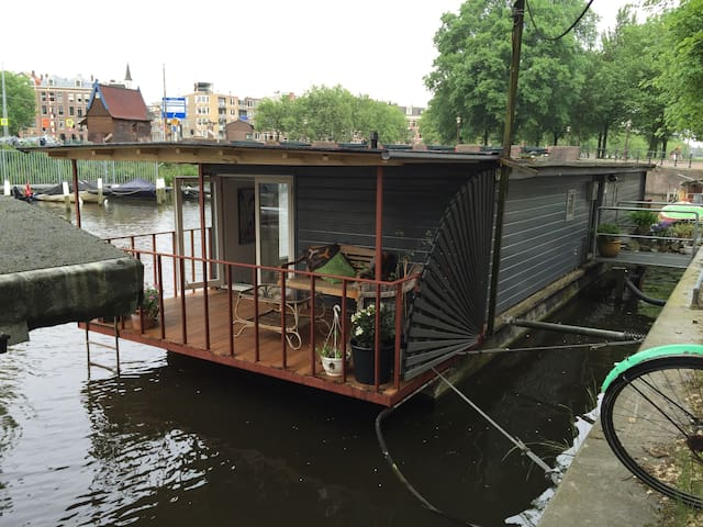 Houseboat in the Jordaan, the old Amsterdam centre - Amsterdam - Tekne