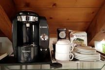 café et thés disponibles