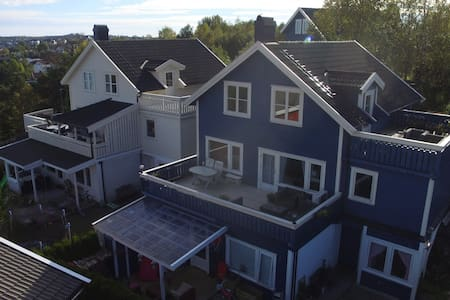 Stor bolig 1,5 km fra sentrum - Arendal - 公寓