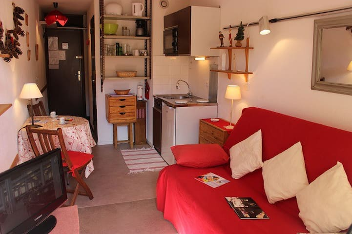 VAN461 - VAL THORENS STUDIO 2 PAX NICELY DECORATED AND NICE MOUNTAIN VIEW