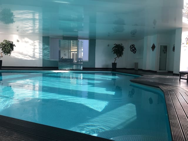 Large Indoor Heated Swimming Pool