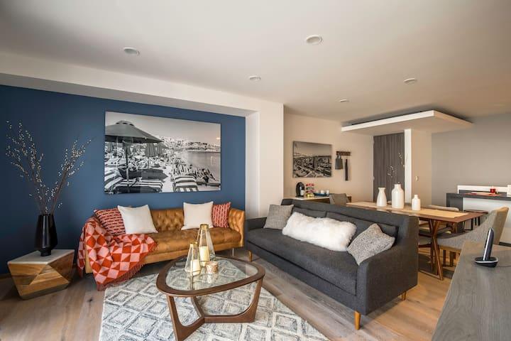 Amazing Condesa 2 level apartment - Ciudad de México - Apartment