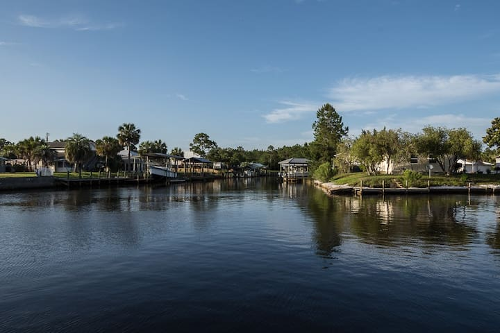 Spend quiet mornings out on the water, accessible right from your own backyard.