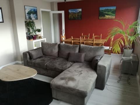 Appartement calme et lumineux 67m2 dans Clermont