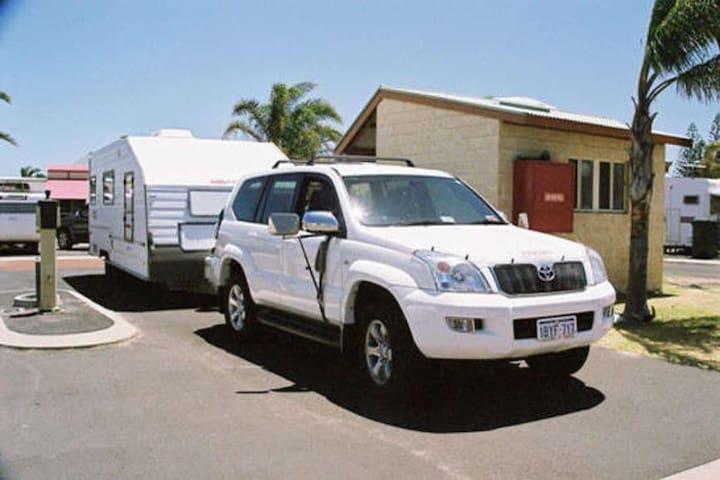 Caravan Ensuite Sites - Bunbury Foreshore