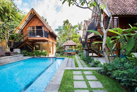B1 Traditional Eco  Bungalow with Pool in Umalas
