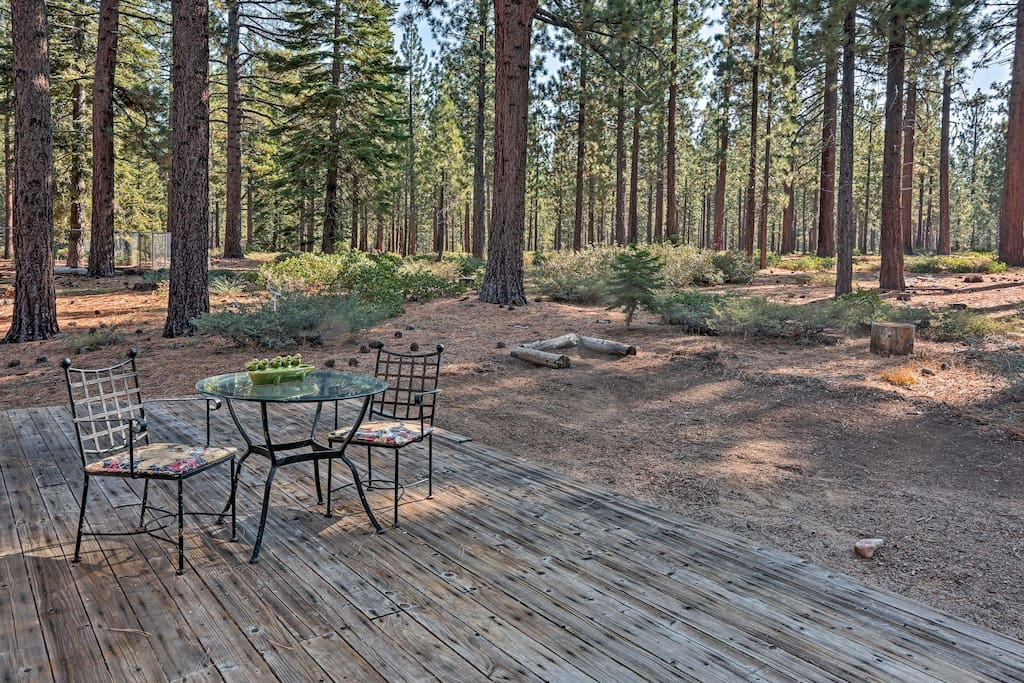 Walk out your back door into the Eldorado Forest.