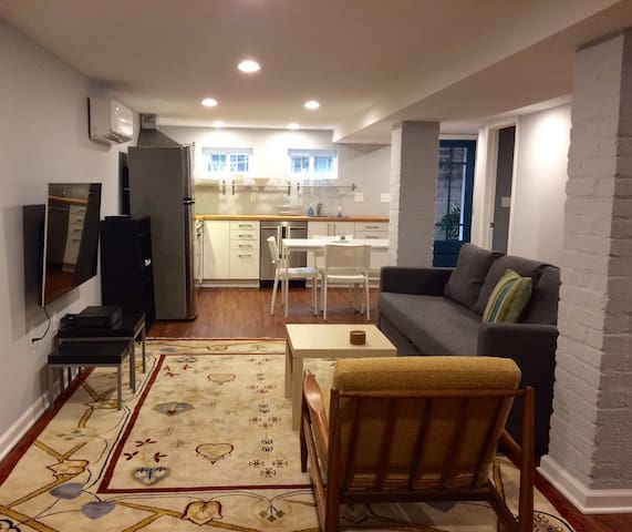 Beautiful, Newly Renovated English basement - Washington - Apartment