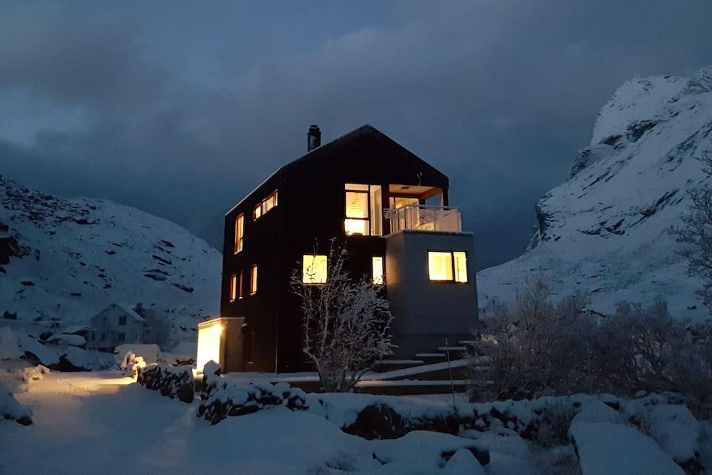 In winter light