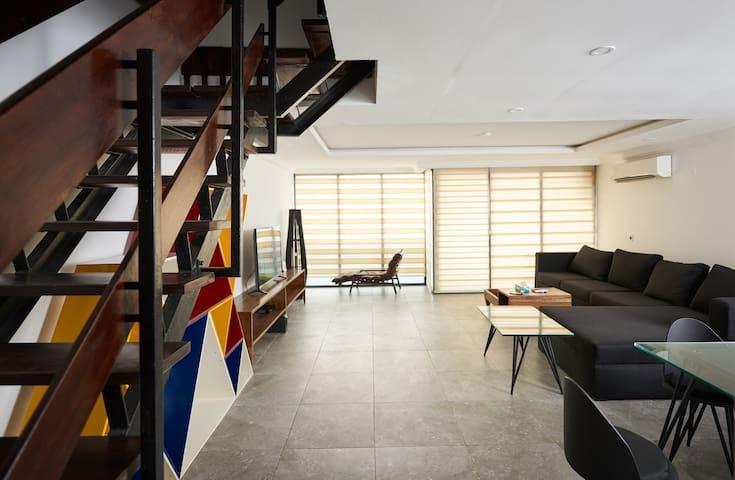 Minimalist 2 bedroom Penthouse in Victoria Island