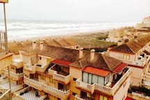 Sea View,1st Line, 3 bed apartment 5 beds Valencia