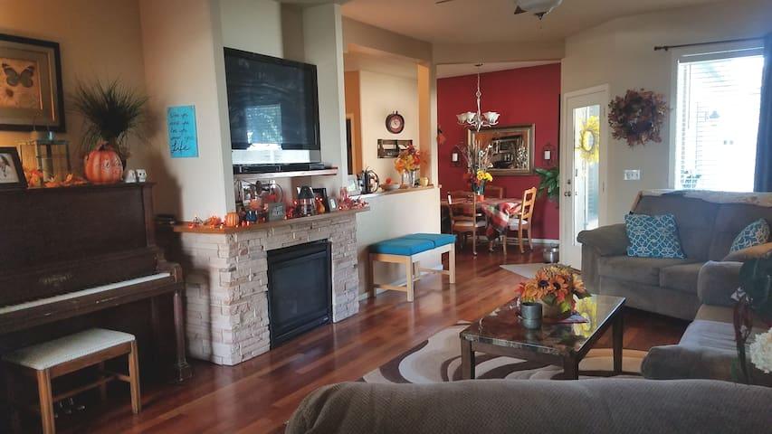 PET FRIENDLY new home in quiet neighborhood..