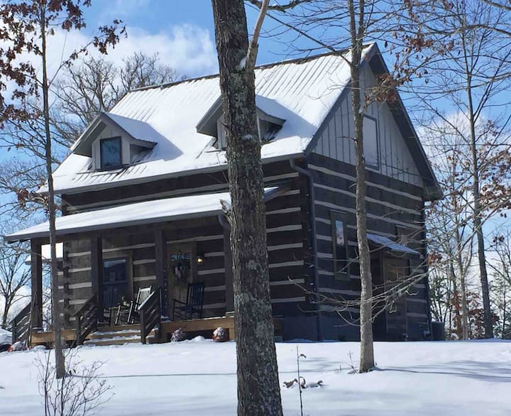 Reems Creek Mountain Cabin