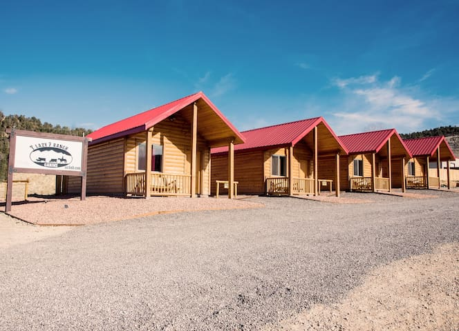 T Lazy 7 Ranch Cabins  #1
