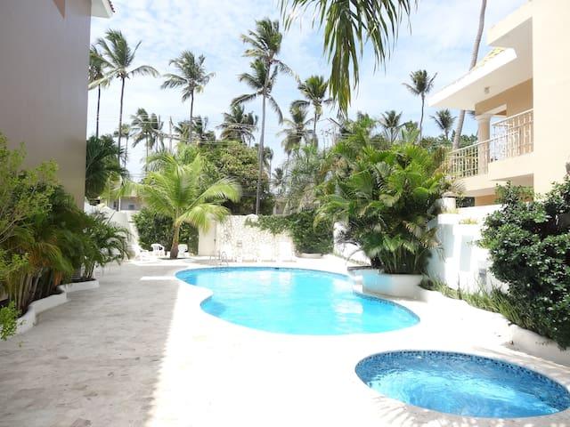 Peaceful apartment close to the beach - Punta Cana - Departamento