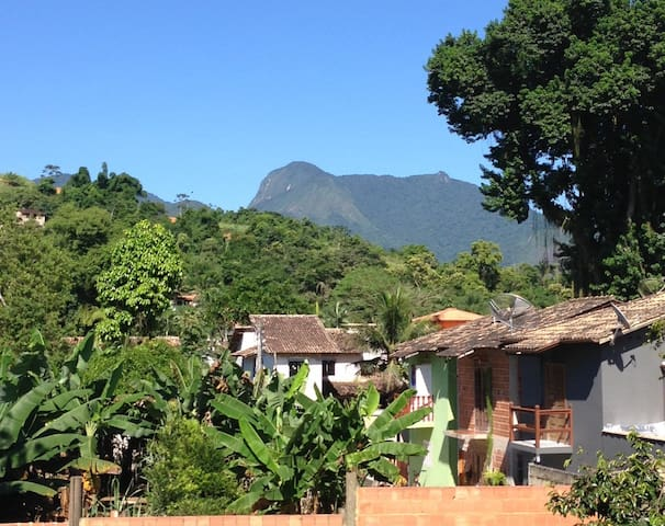 Room in Apartment with Balcony & Lovely View - Paraty - Apartment