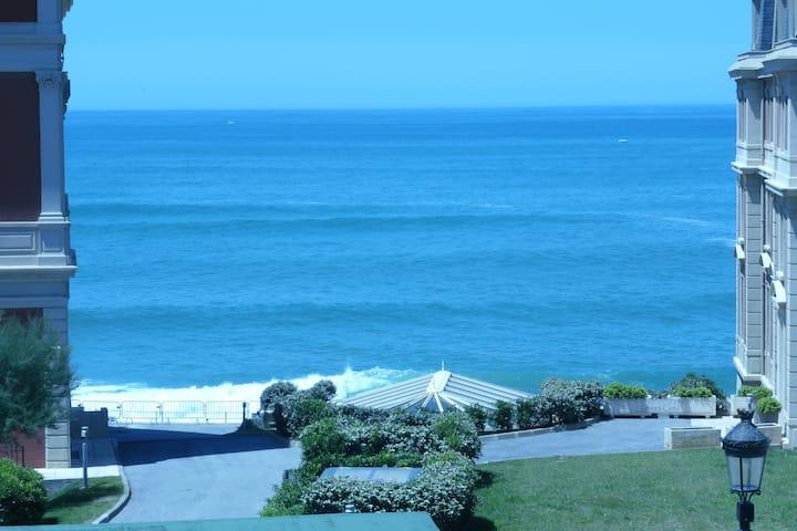 Loft T1 BIARRITZ vue océan idéal séjour thalasso