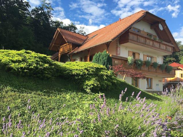 Apartmaji Češnjice - Šenturška Gora