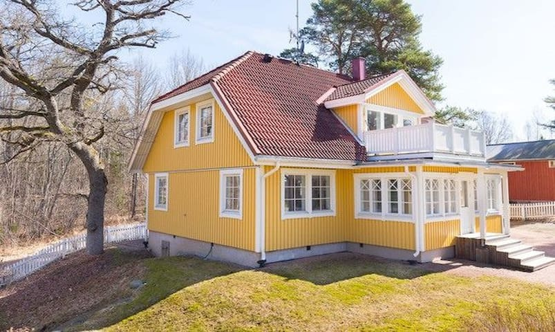 Two bedrooms in spacious Fiskars village house