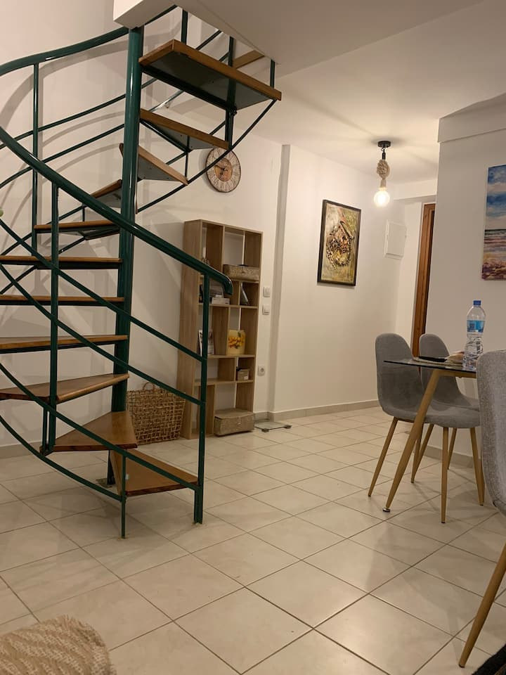 Maisonette near to the beach, beautiful see-view