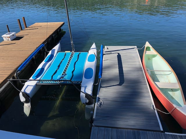 Hobie Wave sailboat available for rent