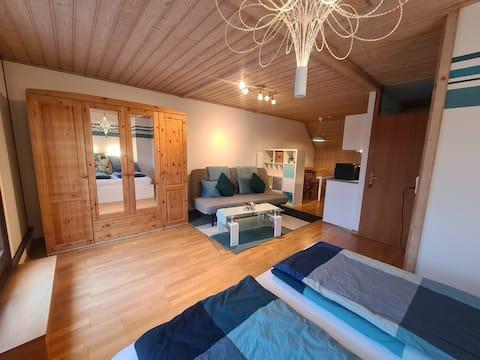 Gäste-Apartment mit Dachterrasse