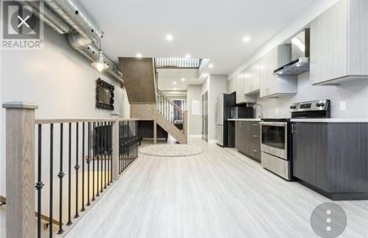 2 Level open concept apart. in downtown Hamilton