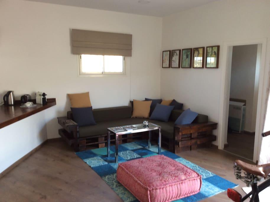 beach appart terrace privee une chambre a part appartements en r sidence louer. Black Bedroom Furniture Sets. Home Design Ideas