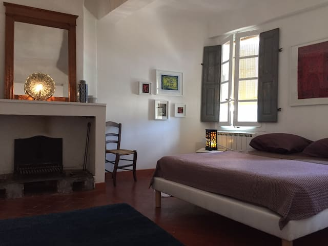 Double bedroom 45‎sqm at downtown Cotignac