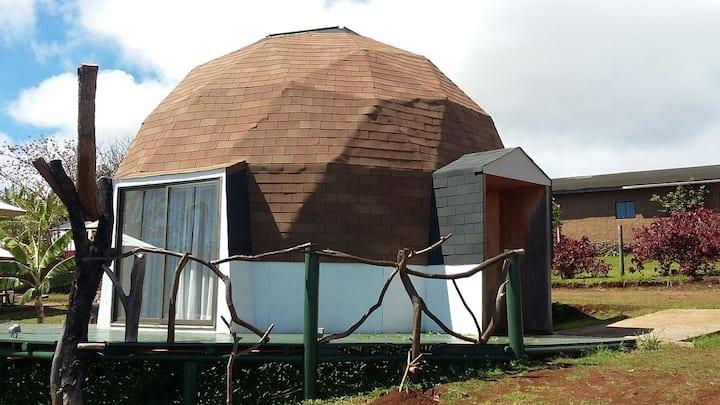 Domos Isla de Pascua 2 certificados por SERNATUR