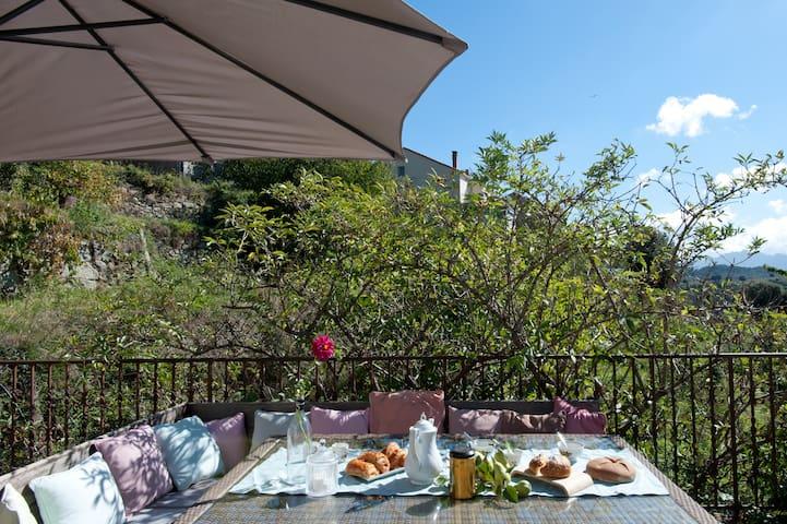 SUD CORSE-BAVELLA-LOCATION-MONTAGNE ET MER - Sorbollano - House