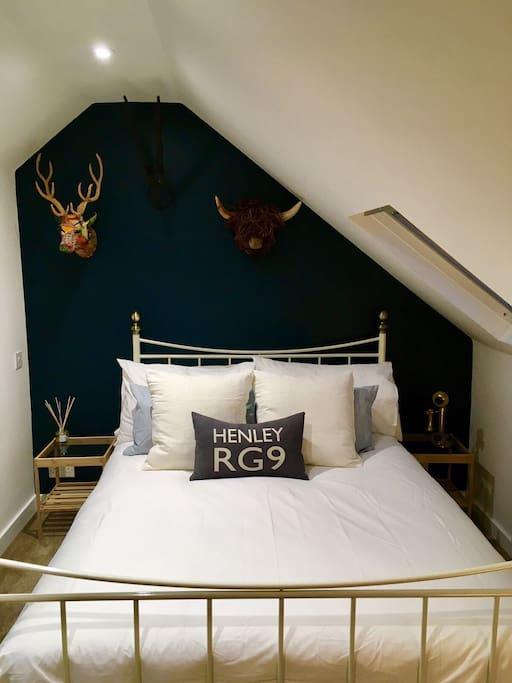 Loft bedroom with en suite