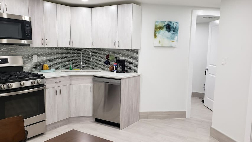 Brand new ultra modern entire 2 bdrm near MTA(1)