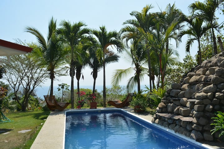 Splendid Serviced Guest House Ocean view Montezuma