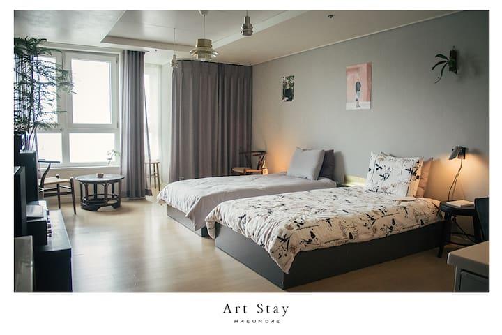 Art Stay @ 해운대  Busan Haeundae