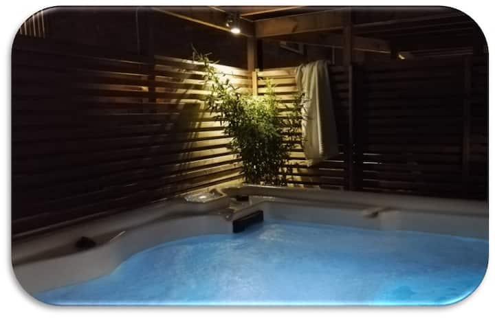 Helsingborg/Råå lovely rental with outdoor spa