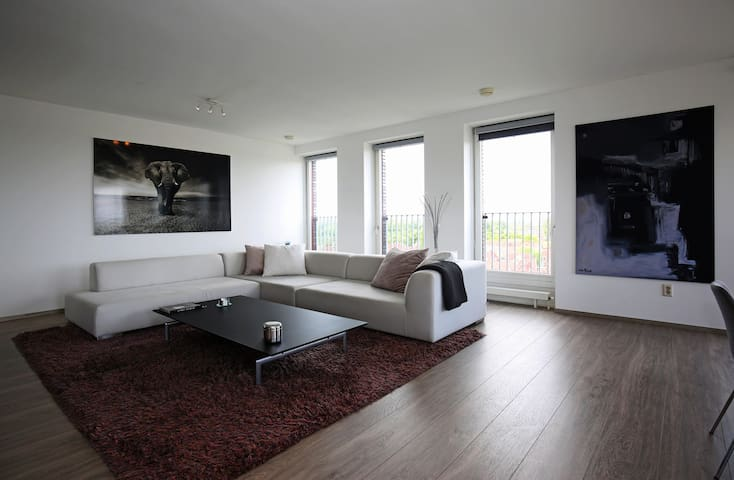 Relax in the large living space.
