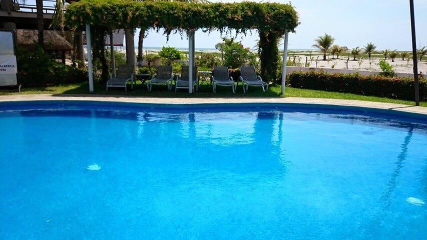VILLA VELEROS BEACH BEST PLACE IN TAPACHULA MEXICO