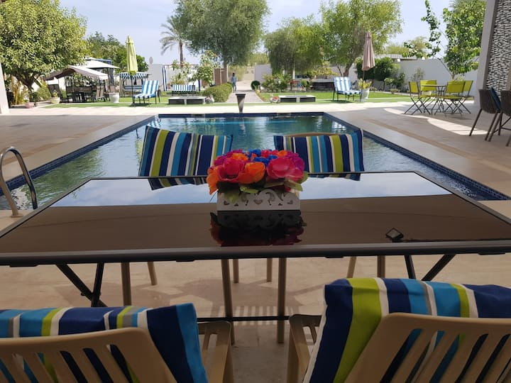 AL Omara Private villa with pool