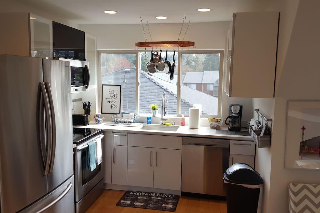 Modern kitchen with all the essentials