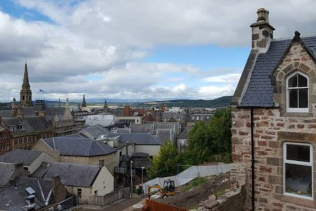Impressive views over Inverness and beyond