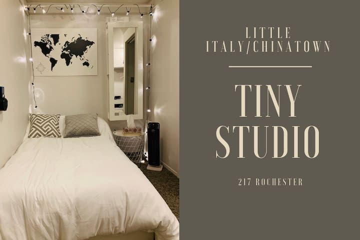 CUTE, SMART (ALEXA-EQUIPPED), TINY STUDIO DOWNTOWN