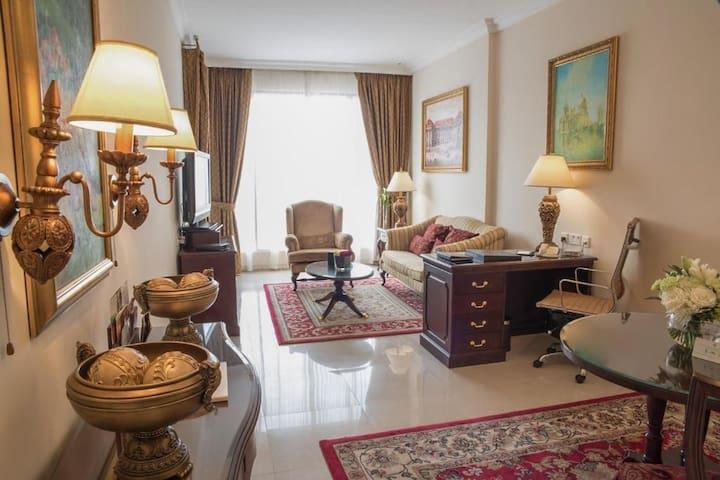 Spacious Luxury 2 Bedroom in 5 stars hotel