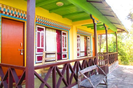 Lamthang Resort- Private room in a Cottage - West Sikkim - 公寓