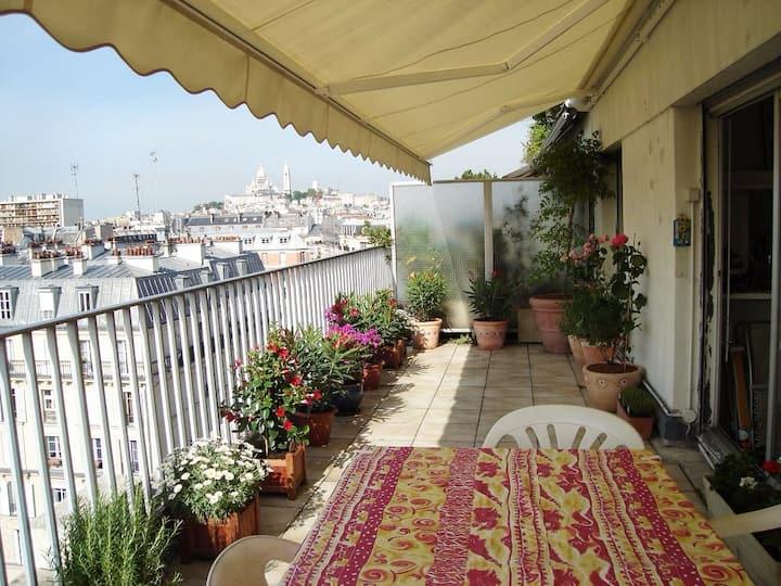 Chambres d'hôtes, confort, quelques jours  à Paris