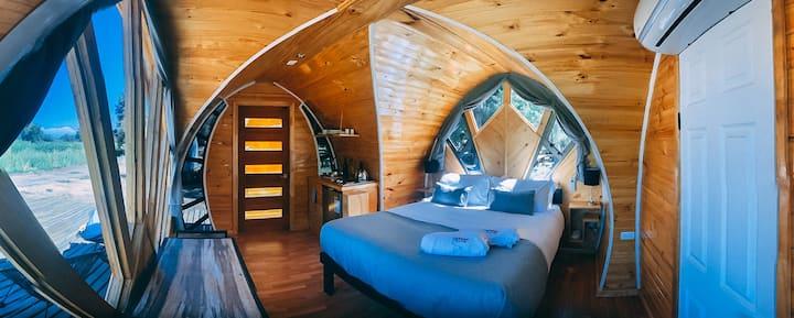 Colchagua Tiny Lodge en el corazón de Apalta.